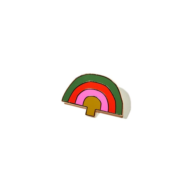 Rainbo Fungi Future Pin