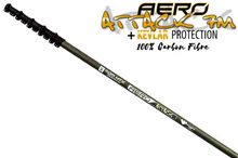 "Load image into Gallery viewer, Aero Master Range: ""Attack"" 100% Kevlar Carbon Fibre Water Fed Pole"