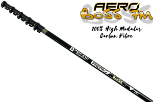 "Aero Master Range: ""Boss"" 100% High Modulus Carbon Fibre Kevlar Water Fed Pole"