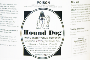 Hound Dog Hard Water Stain Remover