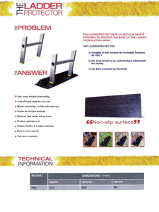 Anti Slip Ladder Stopper