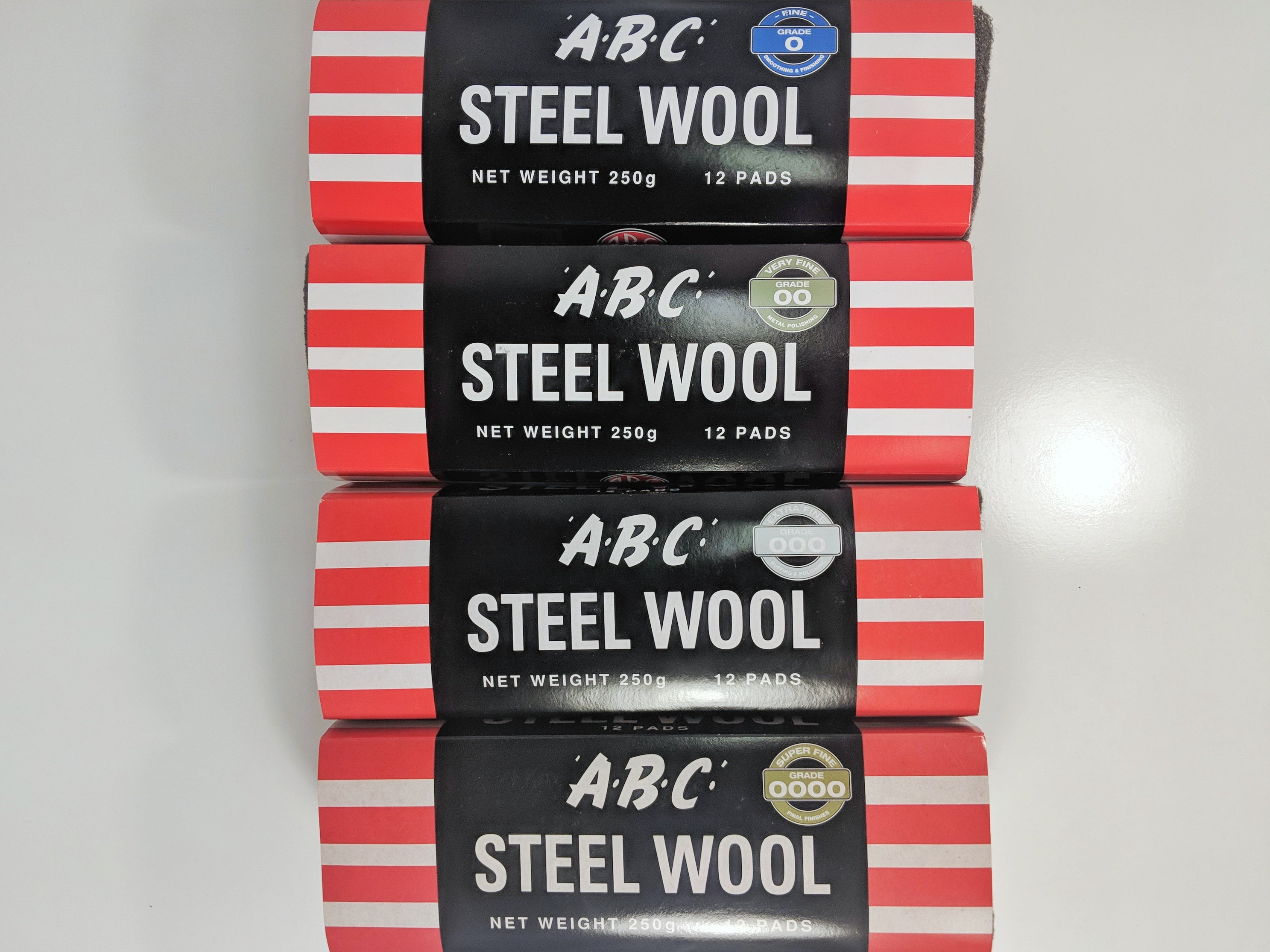 ABC Glass Rated Steel Wool 250g