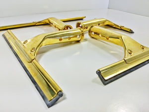 Brass Master Handle & Brass Channel (Complete Squeegee)
