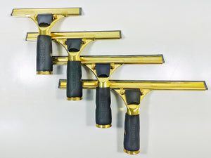 Complete Squeegee (Brass Quick Release Handle & Brass Channel)