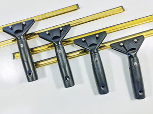 Complete Squeegee (Super System Handle & Brass Channel)
