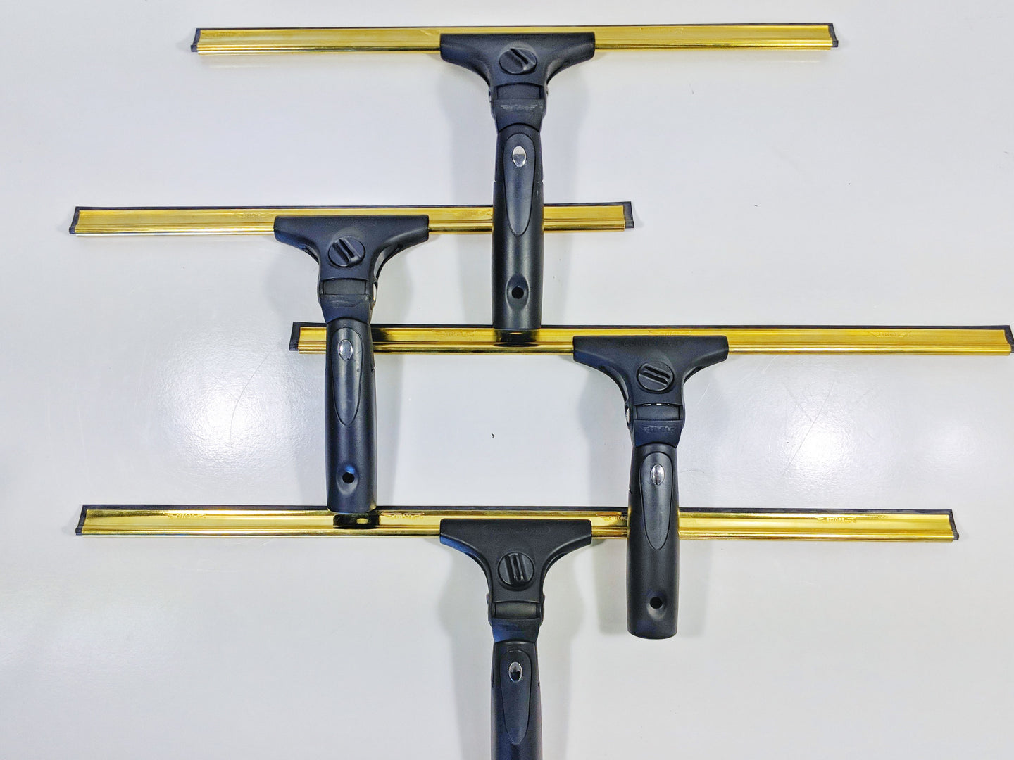 Complete Squeegee (Contour Pro+ Handle & Brass Channel)
