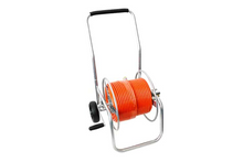 Load image into Gallery viewer, Stand-Alone Compact Metal Hose Reel
