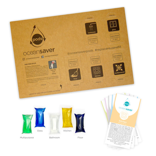 OceanSaver® Cleaning Pods 5 Pack
