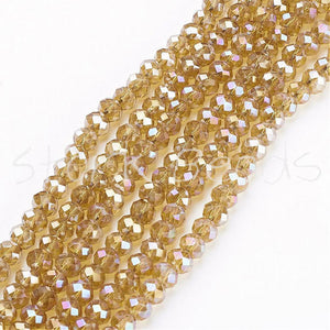 Electroplate Glass Beads Strands a7ac25020ac5e