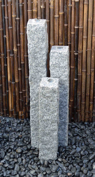 "4"" Chiseled Granite Fountain Kits"