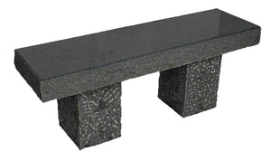 Bench, Dark Grey Granite,Classic,  48x14x17""
