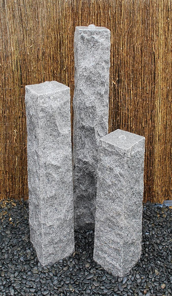 "8"" Chiseled Granite Fountain Kits"