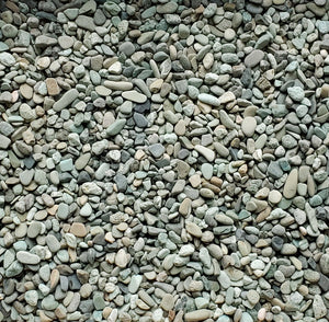 Rounded Aggregate, Green, 3/8""