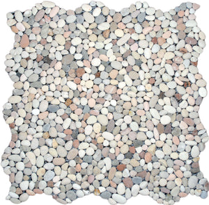 Mini Mixed Pebble Tile