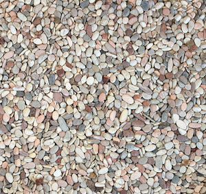 Rounded Aggregate, Mixed, 3/8""