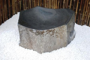Polished Basalt Bowl