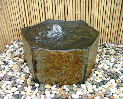 Basalt Polished Bowl Fountains