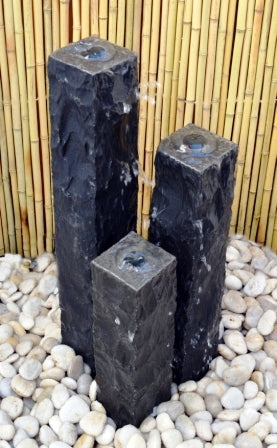 "4"" Chiseled Basalt Fountain Kits"