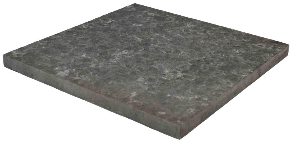 "Basalt Tile, Flamed Finish, 12"" x 12"" x 3/4"" thick"