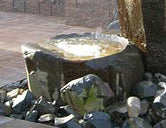 Basalt Dish Rock Fountains