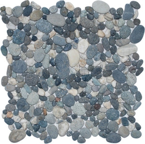 Natural River Rock Pebble Tile