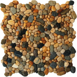 Natural Sierra  Pebble Tile
