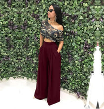 The Savannah Wide Leg Pants