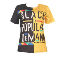 Black By Popular T-Shirt