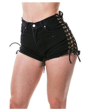 Totally Awesome Lace-up Shorts