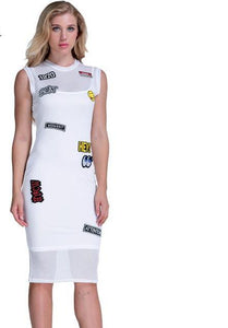 Hey Embroidery Dress