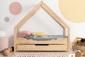 PETIT PUK Dream Cloud huisjesbed