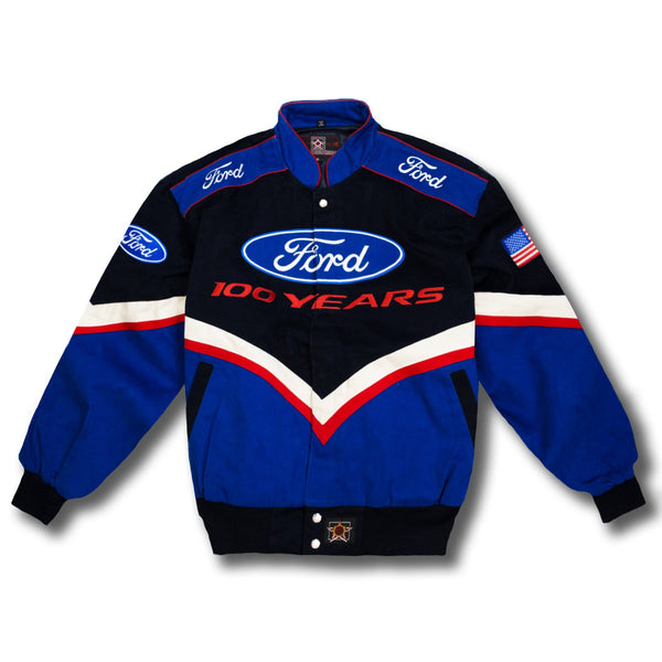 Vintage NASCAR Ford 100 Years Race Jacket - New