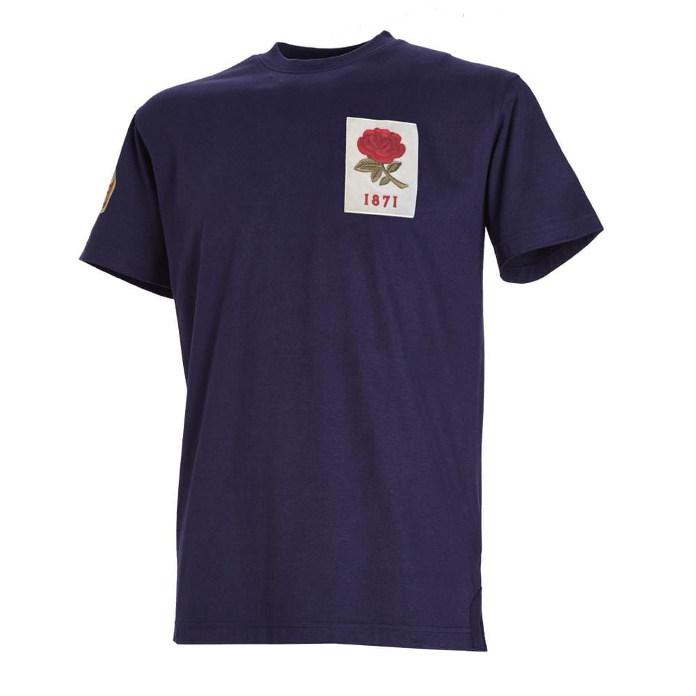 1871 England Vintage T-Shirt Rugby