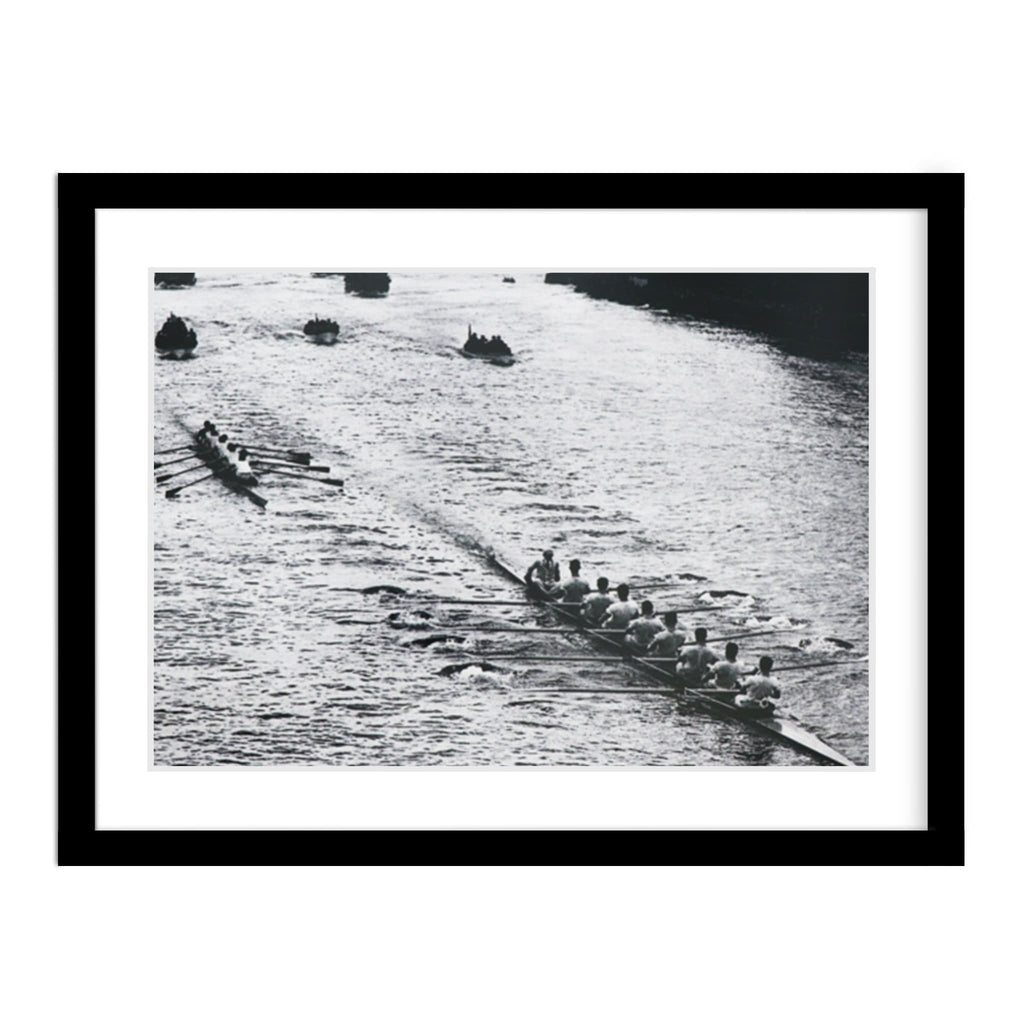 Oxford and Cambridge Compete 1928 Race Framed Photo