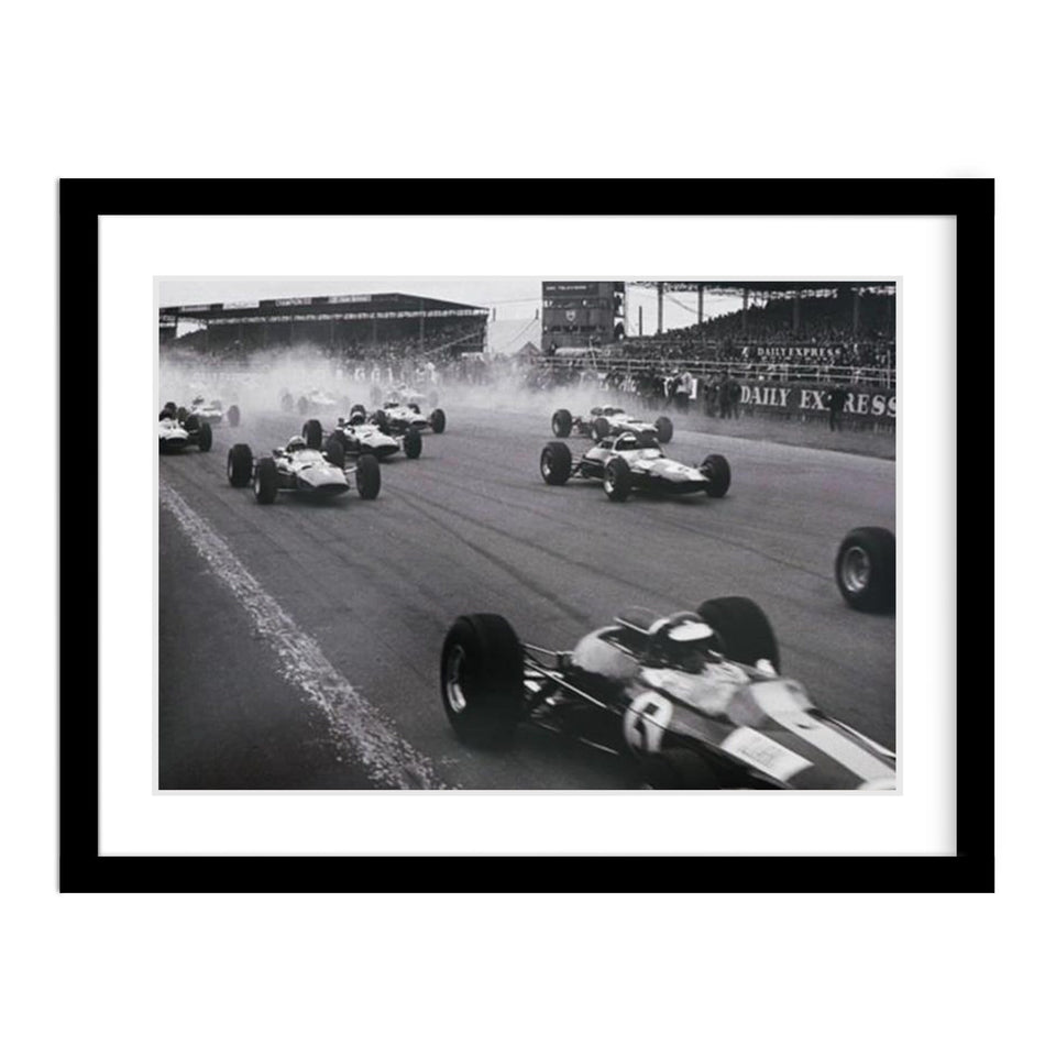 British Grand Prix at Silverstone 1965 Framed Vintage Photo