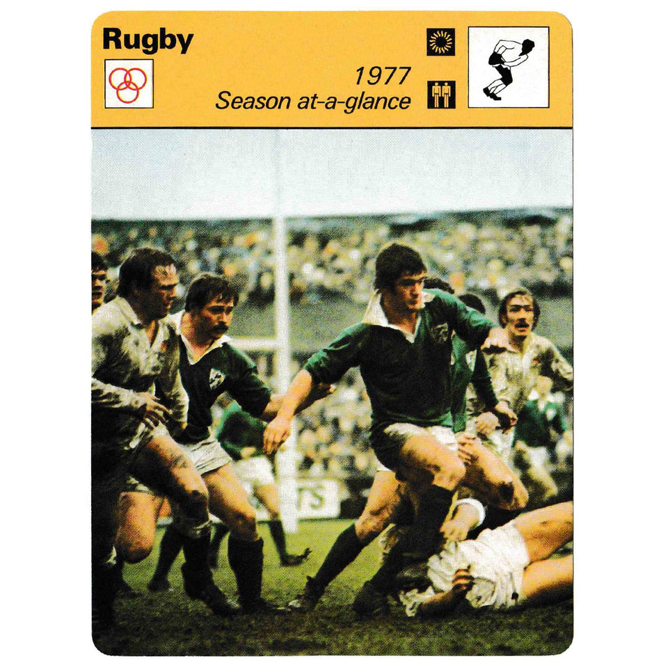 Vintage Irish 1977 Historical Jersey Reference Photo