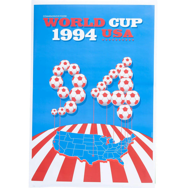 Vintage 1994 World Cup Poster