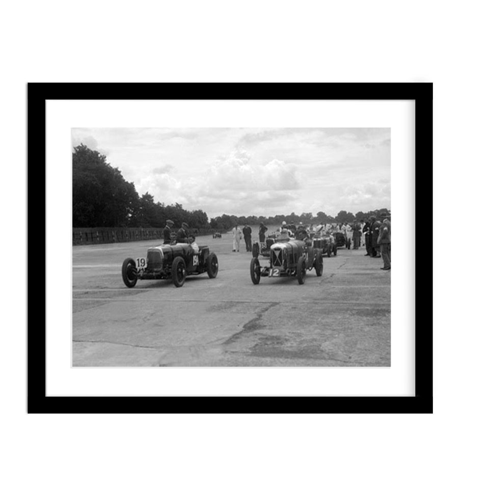 1931 Classic Car Photo Race in Brooklands
