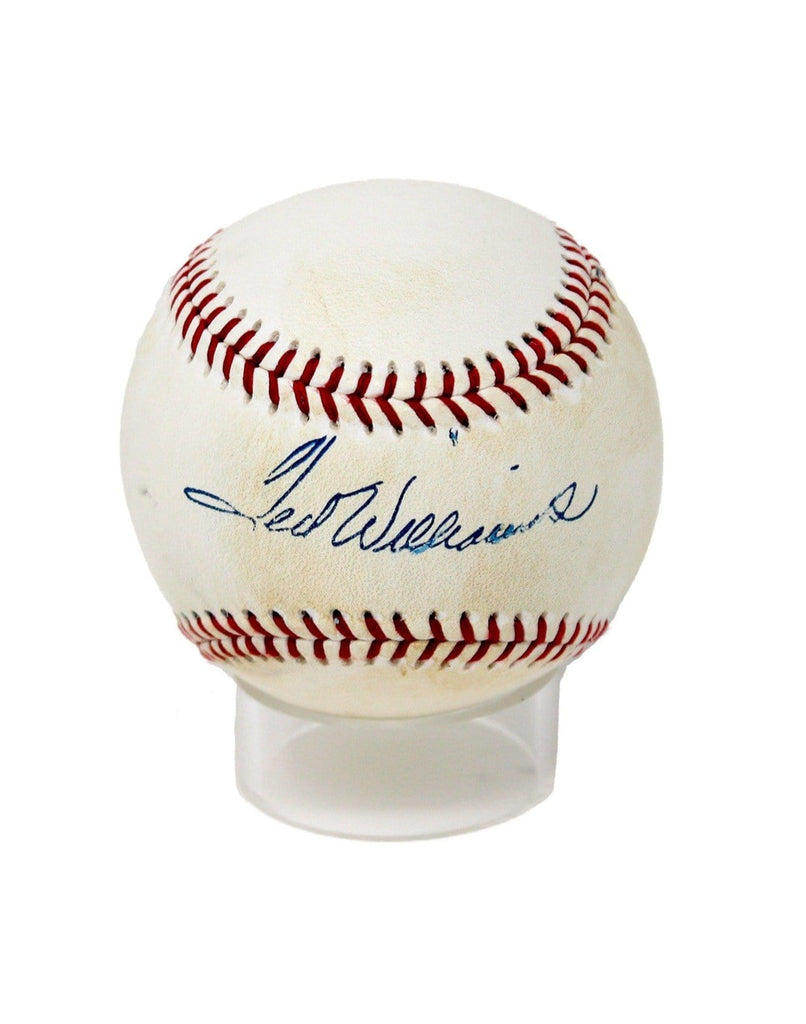 Vintage Ted Williams Replica Autograph Baseball