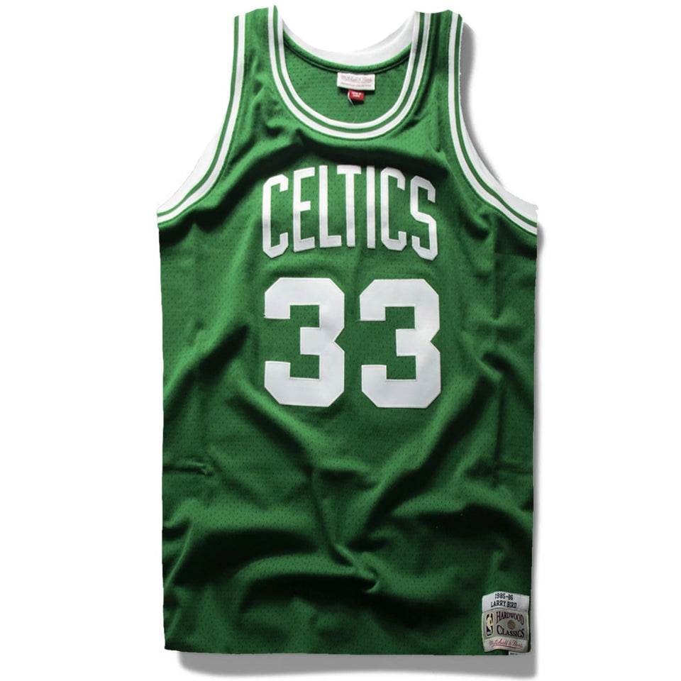 sale retailer cb3cf 168fd Larry Bird Boston Celtics Hardwood Classics Jersey