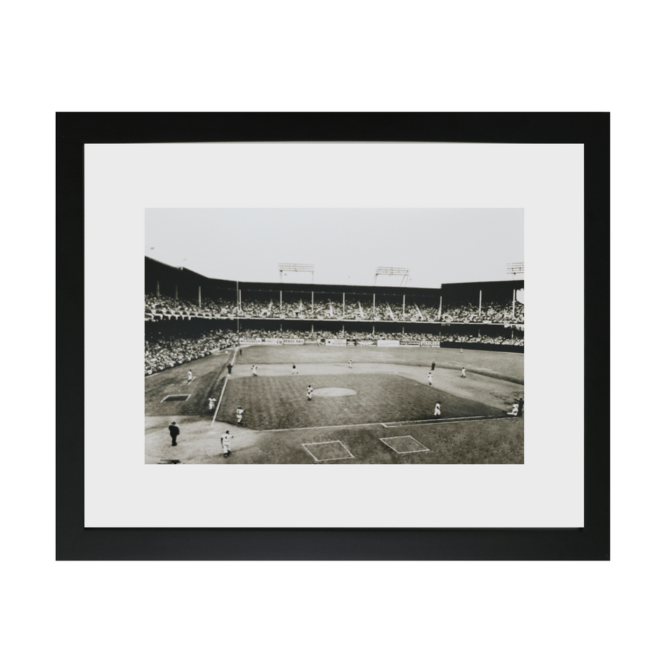 Historic Ebbets Field Framed Photo