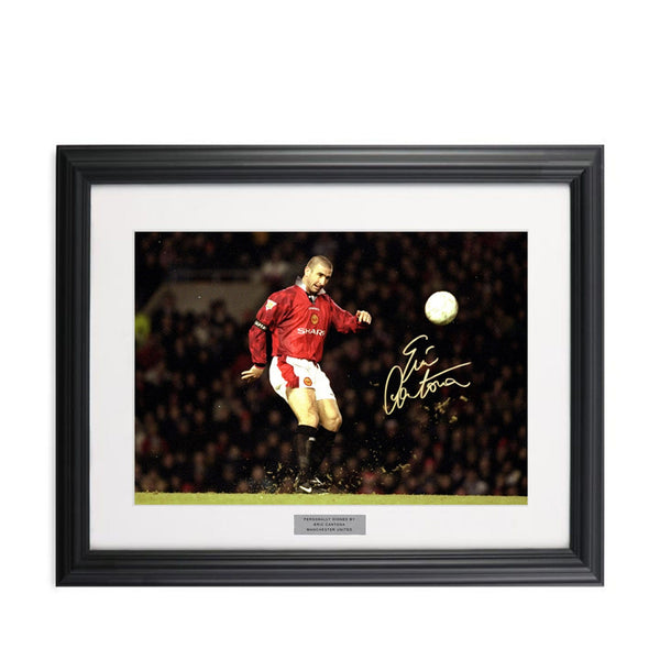 Eric Cantona Signed Photograph