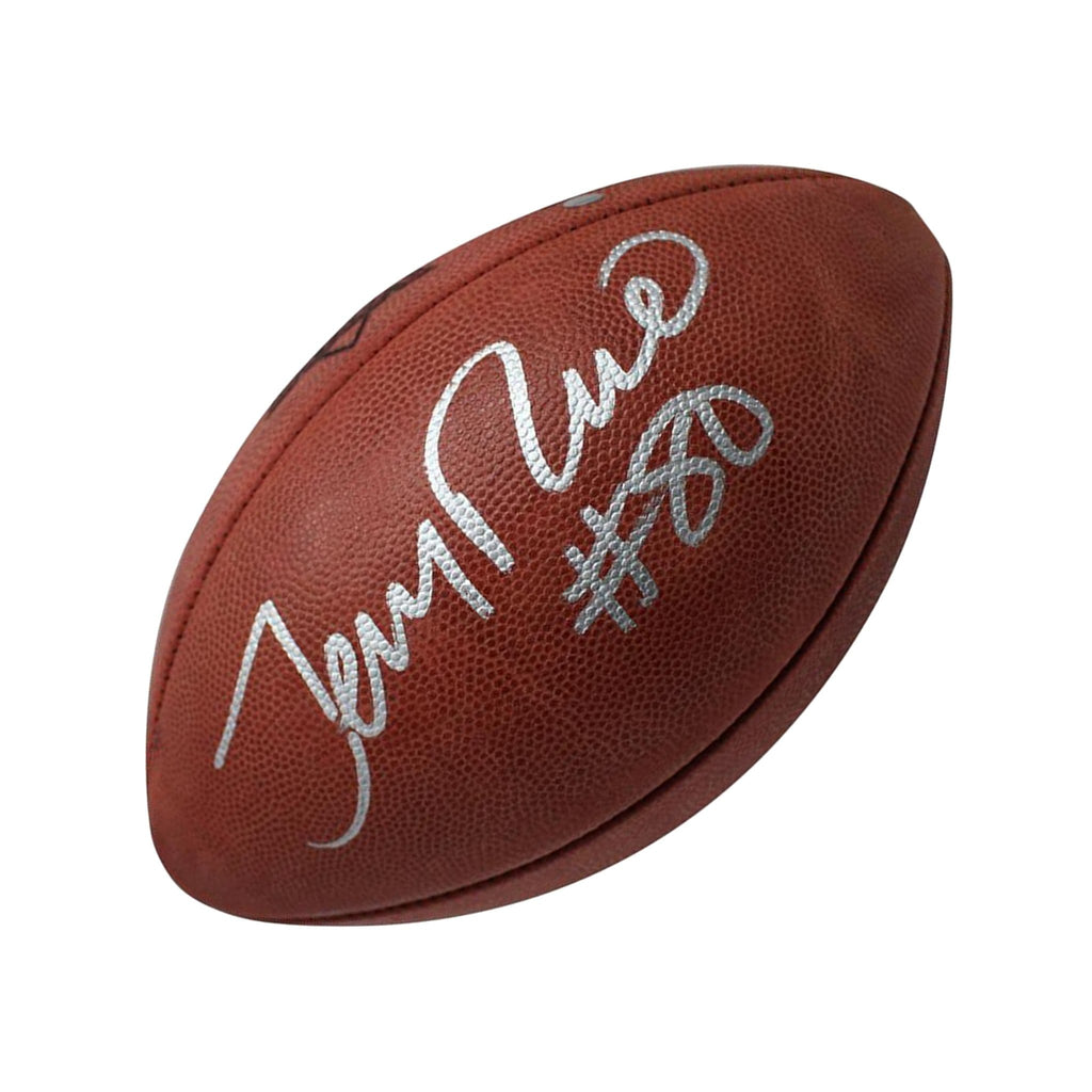 Jerry Rice Superbowl Football
