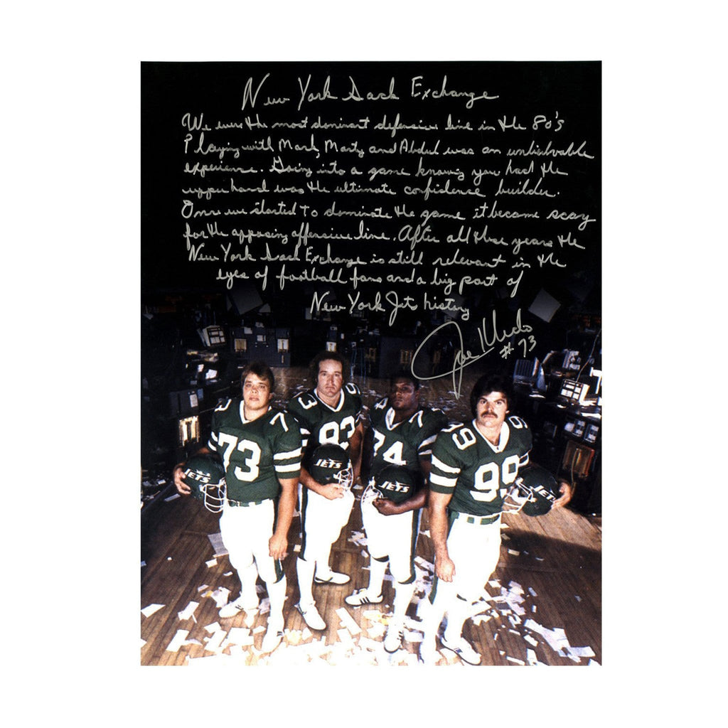 New York Sack Exchange Signed Photograph