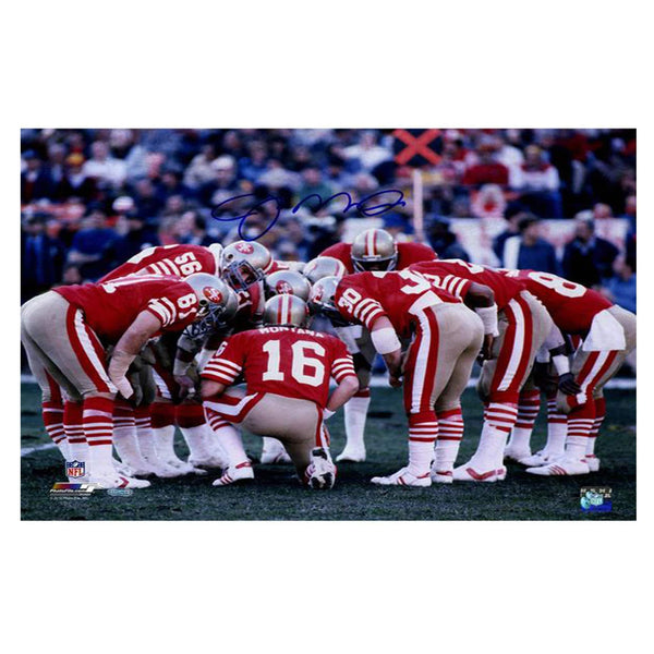 Joe Montana Signed 49ers Photograph