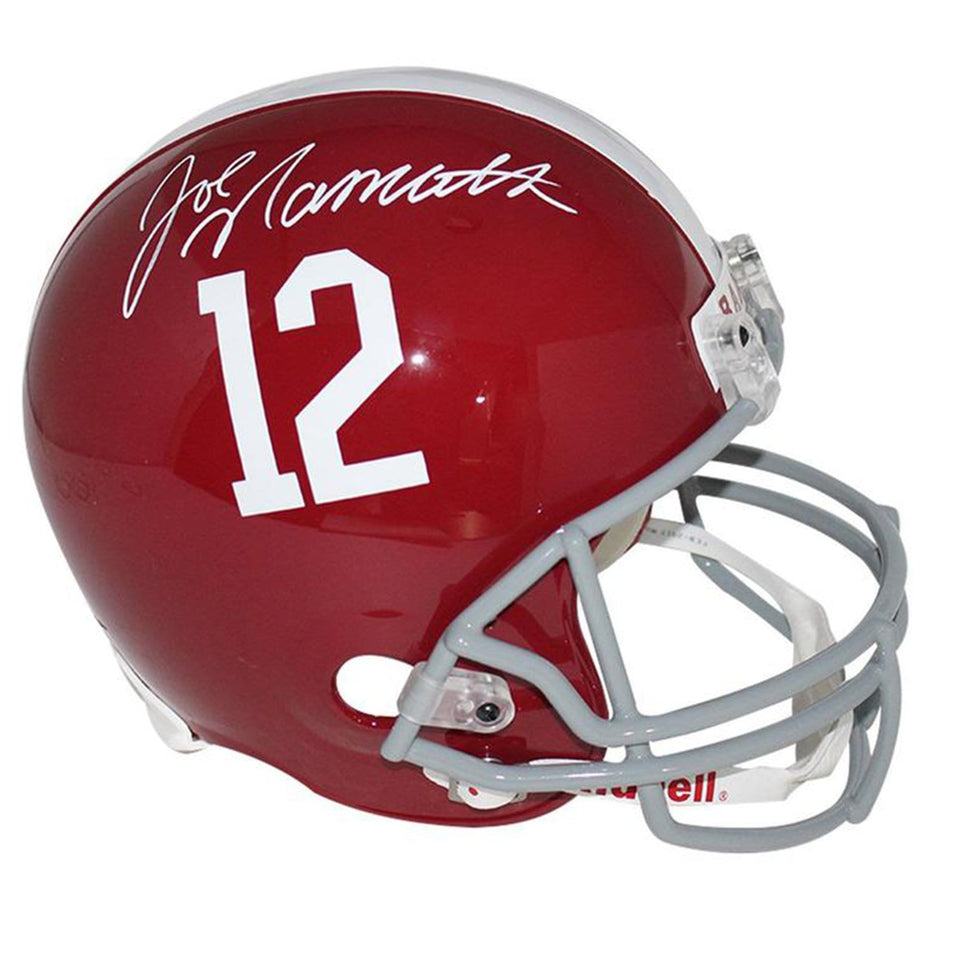 Joe Namath Vintage Alabama Football Helmet