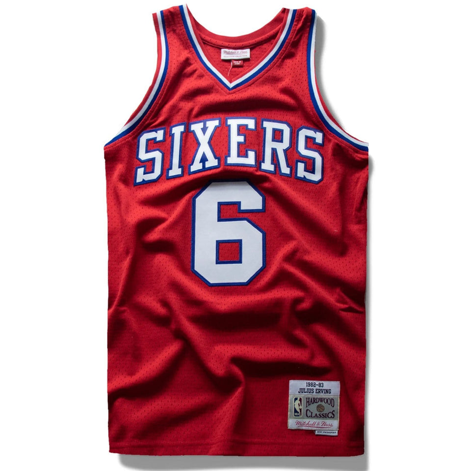Julius Erving Mitchell and Ness Jersey