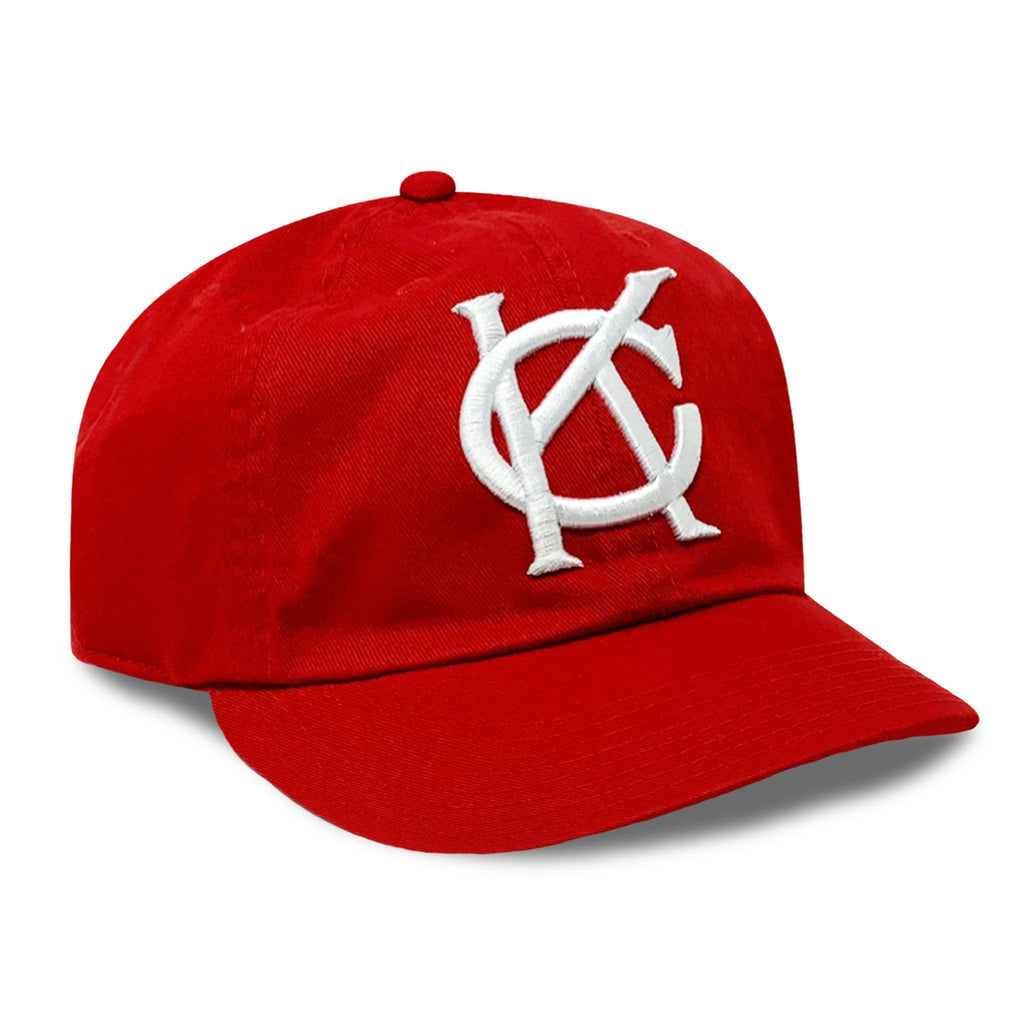 Vintage Kansas City Monarchs Red Cap