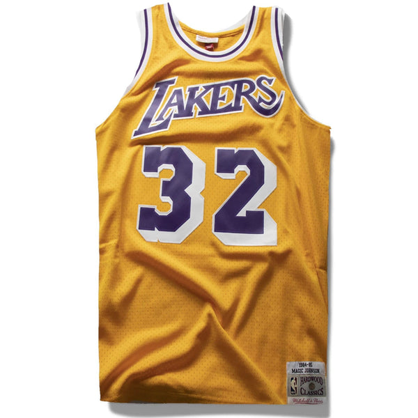 Magic Johnson Los Angeles Lakers official jersey