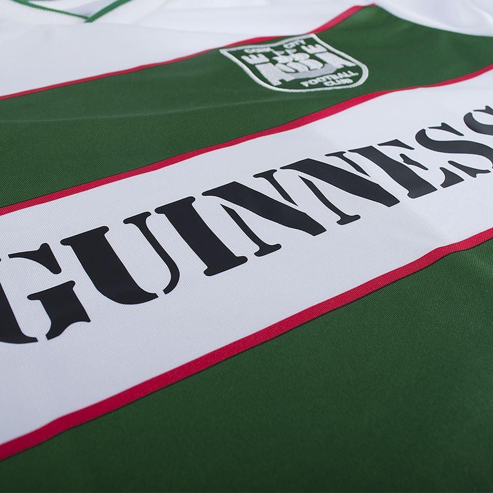 Guinness Close up Cork City FC 1984 Jersey